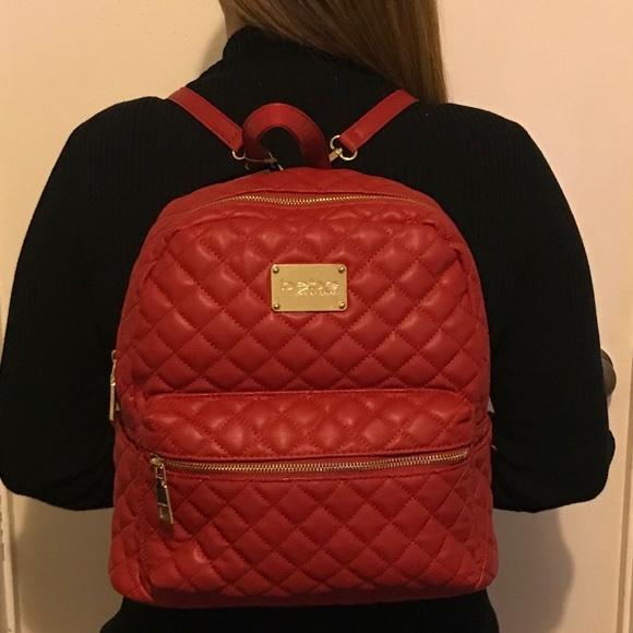 1ae7e03d1f NWT BEBE Red Leather